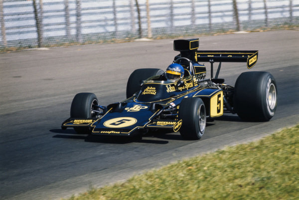 Ronnie Peterson, Lotus 72E Ford.