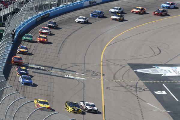 #2: Brad Keselowski, Team Penske, Ford Mustang Alliance Truck Parts #22: Joey Logano, Team Penske, Ford Mustang Shell Pennzoil