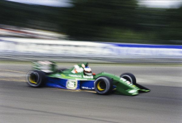 Michael Schumacher, Jordan 191 Ford.