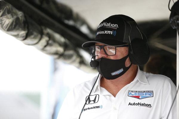 #60: Michael Shank, Meyer Shank Racing Honda