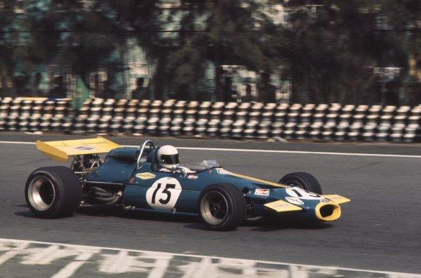 1970 Mexican Grand Prix.Mexico City, Mexico.23-25 October 1970.Jack Brabham (Brabham BT33 Ford).Ref: 70 MEX 57.World Copyright - LAT Photographic