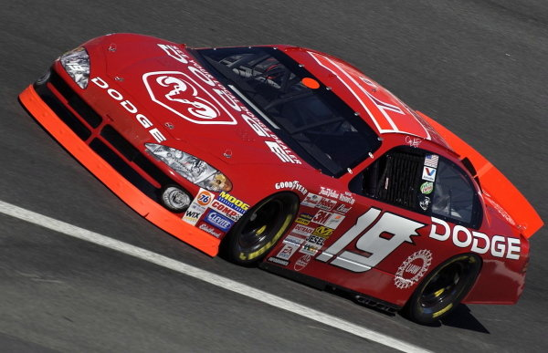 Jeremy Mayfield (USA) Dodge retired from the race.