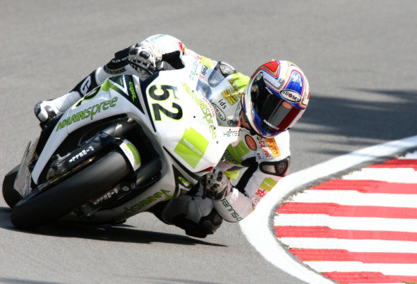 Brands Hatch, England. 3rd - 5th August 2007. James Toseland, Hannspree Honda CBR1000RR. Action. World Copyright: Kevin Wood/LAT Photographic ref: Digital Image IMG_7906a