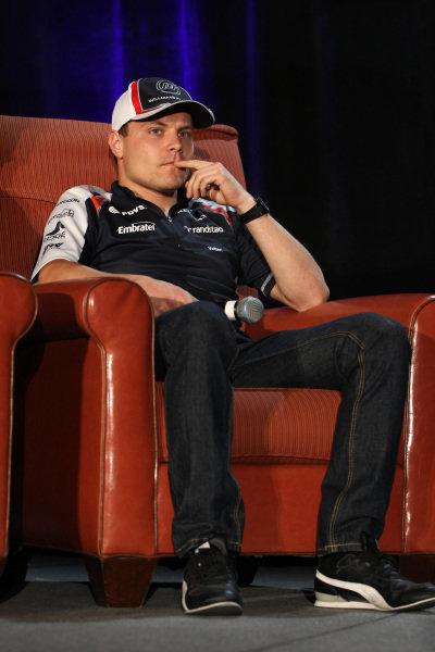 Valtteri Bottas (FIN) Williams Third Driver. FOTA Fans Forum, Hilton Hotel, Austin, Texas, USA, 14 November 2012.