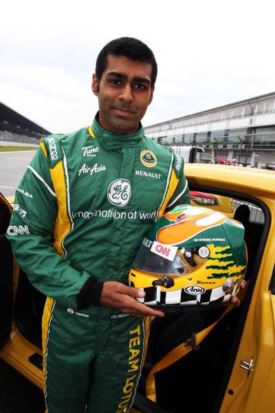 Karun Chandhok (IND) Team Lotus. Formula One World Championship, Rd 10, German Grand Prix, Preparations, Nurburgring, Germany, Thursday 21 July 2011.