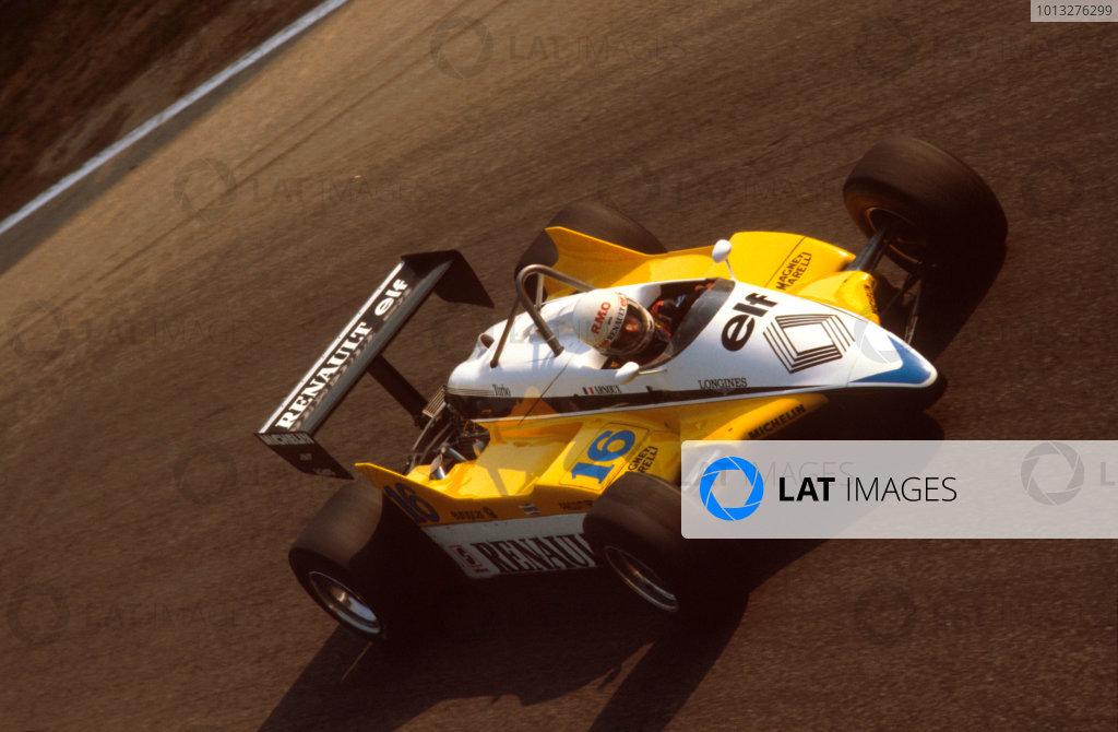 1982 Italian Grand Prix.