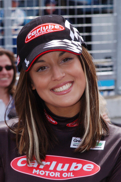 2003 ChampCar Series 3-5 May 2003London Trophy at Brands Hatch, EnglandTrophy girl2003- Dan R. Boyd USA LAT Photography