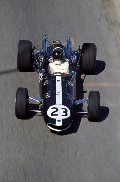 Dan Gurney (USA) Eagle Weslake T1G, retired on lap 5.