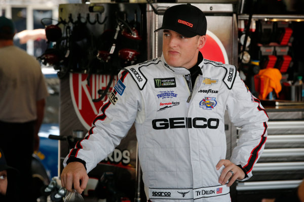 NASCAR XFINITY Series Sport Clips Haircuts VFW 200 Darlington Raceway, Darlington, SC USA Friday 1 September 2017 Ty Dillon, Germain Racing, GEICO Chevrolet SS World Copyright: Matthew T. Thacker LAT Images