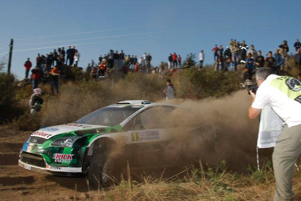 Round 05Rally Argentina 24- 27 of April 2009Metthew Wilson, Ford, WRC, ActionWorldwide Copyright: McKlein/LAT