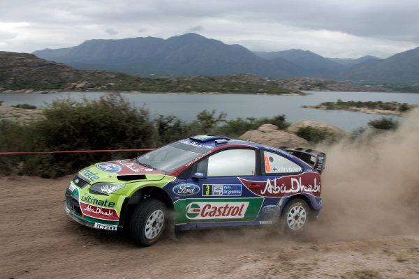 Round 05Rally Argentina 24- 27 of April 2009Mikko Hirvonen, Ford, WRC, ActionWorldwide Copyright: McKlein/LAT