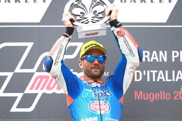 2017 Moto2 Championship - Round 6 Mugello, Italy Sunday 4 June 2017 Podium: Race winner Mattia Pasini, Italtrans Racing Team race World Copyright: Gold & Goose Photography/LAT Images ref: Digital Image 674649