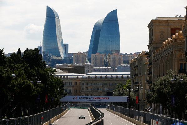 Baku City Circuit, Baku, Azerbaijan. Friday 23 June 2017. Valtteri Bottas, Mercedes F1 W08 EQ Power+. World Copyright: Andrew Hone/LAT Images ref: Digital Image _ONY8391