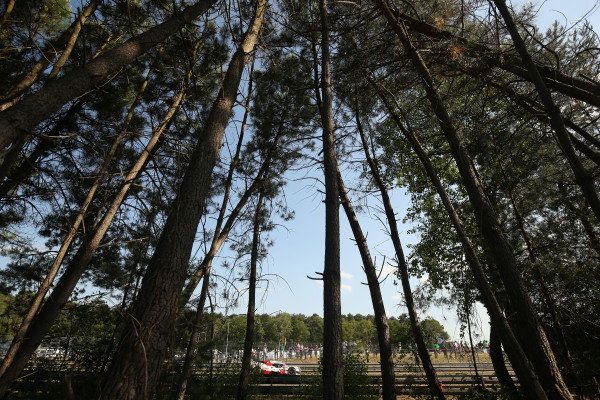 2017 Le Mans 24 Hours Circuit de la Sarthe, Le Mans, France. Wednesday 14 June 2017 #7 Toyota Gazoo Racing Toyota TS050-Hybrid: Mike Conway, Kamui Kobayashi, Stephane Sarrazin  World Copyright: JEP/LAT Images