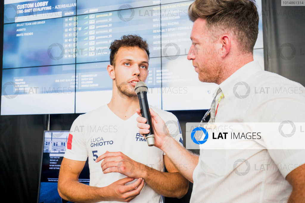 2017 FIA Formula 2 Round 4. Baku City Circuit, Baku, Azerbaijan. Saturday 24 June 2017.Luca Ghiotto (ITA, RUSSIAN TIME)  Photo: Zak Mauger/FIA Formula 2. ref: Digital Image _54I1515