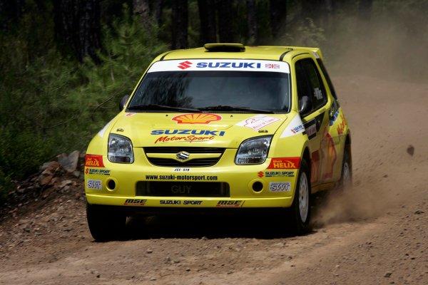 2004 FIA World Rally Champs. Round seven, Rally Turkey.24th- 27th June 2004.Guy Wilks,Suzuki, action.World Copyright: McKlein/LAT