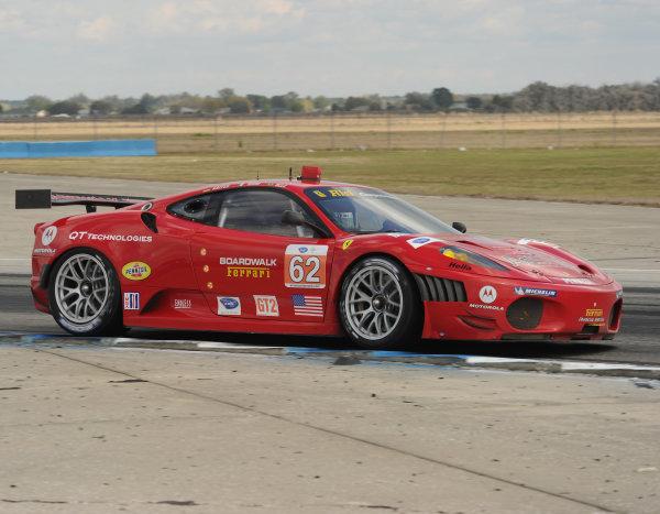 17-20 March 2010, Sebring, Florida, USA#62 Risi Competizione Ferrari 430 GT©Dan R. Boyd, USA LAT Photographic