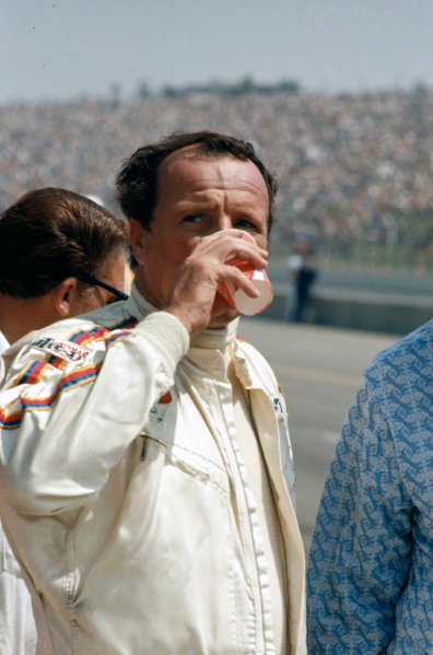1971 USAC Indycar Series.Ontario, California, USA. 5th September 1971.AJ Foyt (Coyote-Ford), 16th position/Retired.World Copyright: Murenbeeld/LAT Photographic