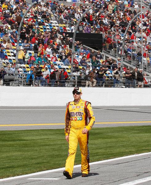 5-14 February, 2010, Daytona Beach, Florida, USAKyle Busch©2010, David J. Griffin, USALAT Photographic