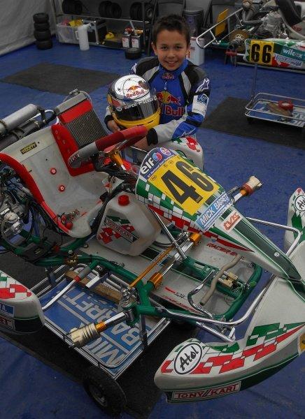 Alexander Albon (GBR), Mick Barrett Racing.KF3 Stars of Tomorrow, PF International, England, April 2008.