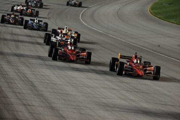 Graham Rahal (USA) Newman Haas Lanigan Racing. IndyCar Series, Rd15, Peak Anti Freeze 300, Chicagoland Speedway, Joliet, Illinois, USA, 29-30 August 2009.