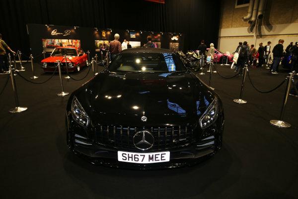 Autosport International Exhibition. National Exhibition Centre, Birmingham, UK. Saturday 13th January, 2018. A Mercedes on display.World Copyright: Joe Portlock/LAT Images Ref: JR2_5558