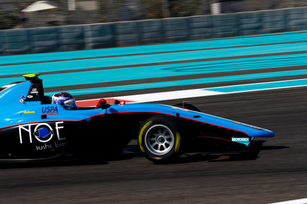 2017 GP3 Series Test 5. Yas Marina Circuit, Abu Dhabi, United Arab Emirates. Thursday 30 November 2017. Juan Manuel Correa (ITA, Jenzer Motorsport). Photo: Joe Portlock/GP3 Series Media Service. ref: Digital Image _R3I7780