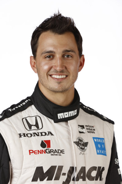 2017 IndyCar Media Day - Driver portrait Phoenix Raceway, Arizona, USA Thursday 9 February 2017 Graham Rahal World Copyright: Michael L. Levitt/LAT Images ref: Digital Image _AT_9669