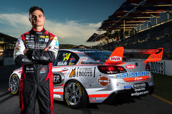 2017 Supercars Championship Round 1.  Clipsal 500, Adelaide, South Australia, Australia. Thursday March 2nd to Sunday March 5th 2017. Tim Slade driver of the #14 Freightliner Racing Holden Commodore VF. World Copyright: Daniel Kalisz/LAT Images Ref: Digital Image 020217_VASCR1_DKIMG_1721.JPG