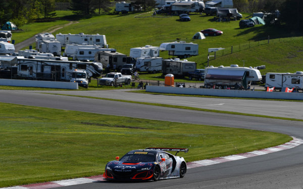 Pirelli World Challenge Victoria Day SpeedFest Weekend Canadian Tire Motorsport Park, Mosport, ON CAN Friday 19 May 2017 Peter Kox/ Mark Wilkins World Copyright: Richard Dole/LAT Images ref: Digital Image RD_CTMP_PWC17036