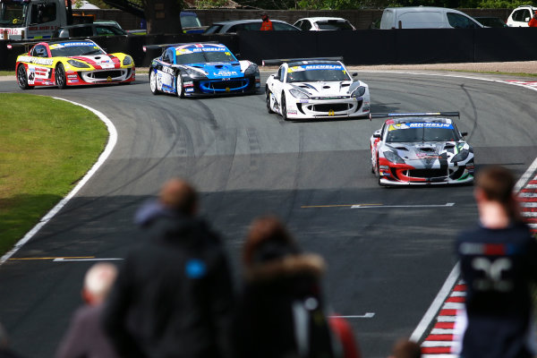 2017 Ginetta GT4 Supercup  Oulton Park, 20th-21st May 2017, Tom Hibbert Ginetta G55 World copyright. JEP/LAT Images