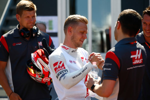 Monte Carlo, Monaco. Sunday 28 May 2017. Kevin Magnussen, Haas F1. World Copyright: Andrew Hone/LAT Images ref: Digital Image _ONY1992