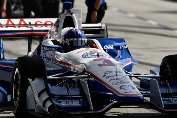 2017 Verizon IndyCar Series Toyota Grand Prix of Long Beach Streets of Long Beach, CA USA Friday 7 April 2017 Helio Castroneves World Copyright: Scott R LePage/LAT Images ref: Digital Image lepage-170407-LB-0314