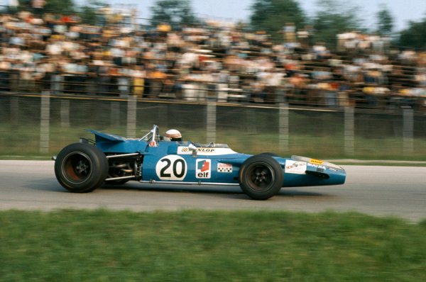 1969 Italian Grand Prix.  Monza, Italy. 5-7th September 1969.  Jackie Stewart, Matra MS80 Ford, 1st position.  Ref: 69ITA08. World Copyright: LAT Photographic