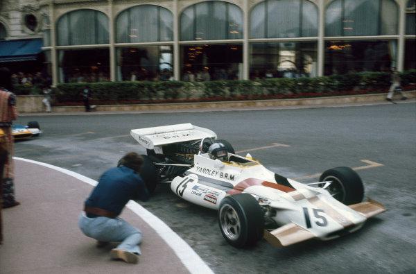 Monaco Grand Prix.   Monte Carlo, Monaco. 20-23rd May 1971.  Pedro Rodriguez, BRM P160.  Ref: 71MON24. World Copyright: LAT Photographic