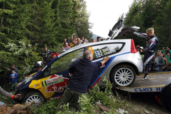 Round 07Rally Bulgaria 8-11 July  2010Kimi Raikkonen, Citroen WRC, off roadWorldwide Copyright: McKlein/LAT