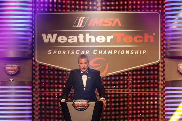 3 October, 2016, Braselton, Georgia,  USA IMSA CEO Ed Bennett ?2016, Michael L. Levitt LAT Photo USA