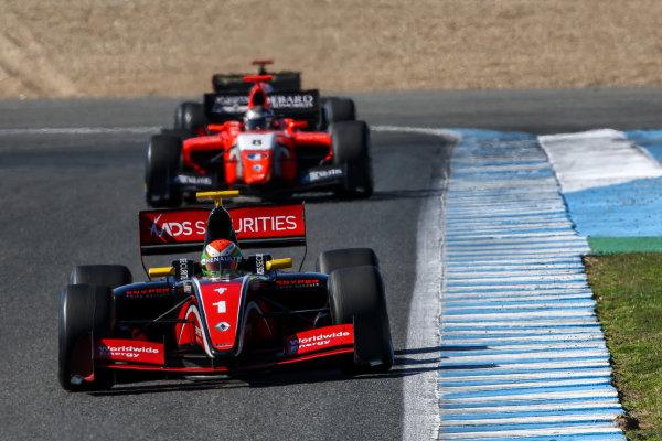JEREZ (ESP) 28-30 oct 2016, Spanish F4, Euro Formula Open and Formula V8 3.5 2016 at circuito de Jerez. Louis Deletraz #1 Fortec motorsports. Action. © 2016 Klaas Norg / Dutch Photo Agency / LAT Photographic