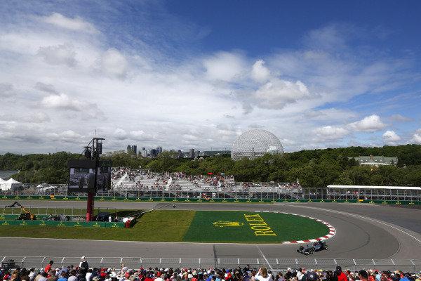Circuit Gilles Villeneuve, Montreal, Canada. Friday 6 June 2014. Nico Rosberg, Mercedes F1 W05 Hybrid. World Copyright: Alastair Staley/LAT Photographic. ref: Digital Image _R6T3790
