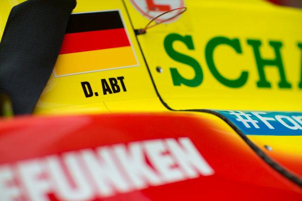 2014/2015 FIA Formula E Championship. Daniel Abt (GER)/Audi Abt Sport - Spark-Renault SRT_01E  Thursday Set-Up. Monaco ePrix, Monte Carlo, Monaco, Europe. Thursday 7 May 2015  Photo: Adam Warner/LAT/Formula E ref: Digital Image _L5R8038