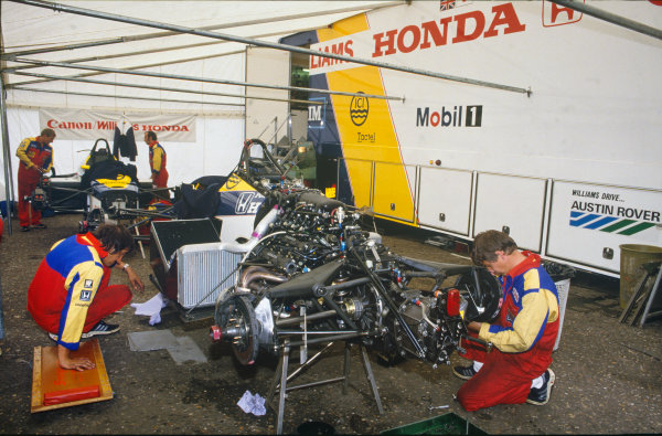 Zandvoort, Holland. 23rd - 25th August 1985. 