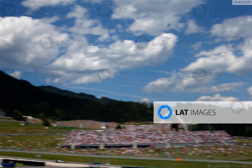 Red Bull Ring, Spielberg, Austria. Sunday 22 June 2014. Nico Rosberg, Mercedes F1 W05 Hybrid. World Copyright: Glenn Dunbar/LAT Photographic. ref: Digital Image _W2Q1906