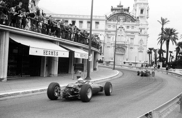 1965 Monaco Grand Prix.Monte Carlo, Monaco.28-30 May 1965.Lorenzo Bandini (Ferrari 1512) 2nd position.Ref-156C/9A.World Copyright - LAT Photographic