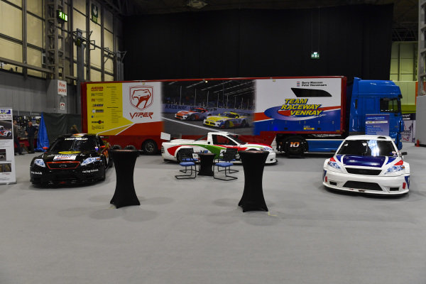 The Team Raceway Venray stand.