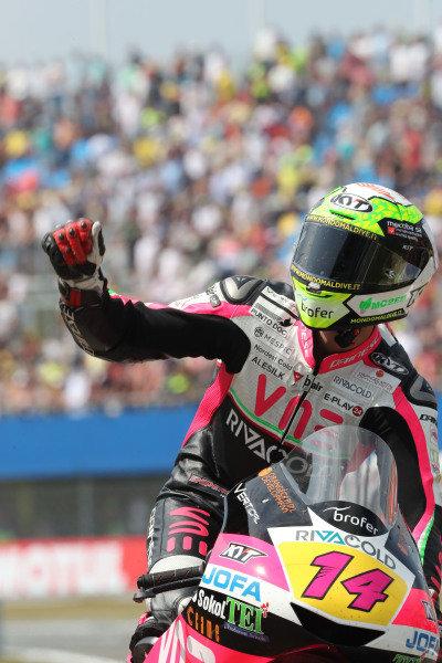 Race winner Tony Arbolino, Team O.