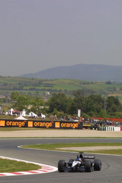 2001 Spanish Grand PrixCatalunya, Barcelona, Spain. 27-29 April 2001.Fernando Alonso (Minardi PS01 European).World Copyright - LAT Photographicref: 8 9 MB Digital File