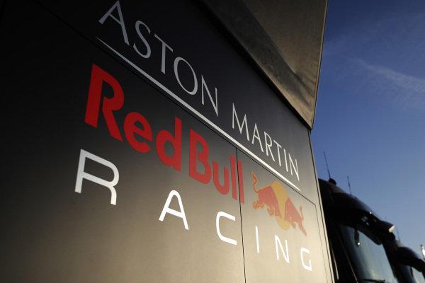 Red Bull Racing trucks