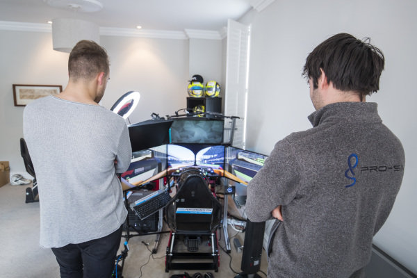 Photoshoot: At home with Lando Norris