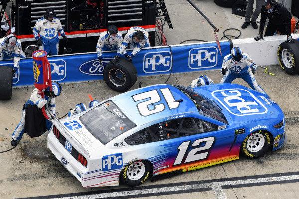 #12: Ryan Blaney, Team Penske, Ford Mustang PPG