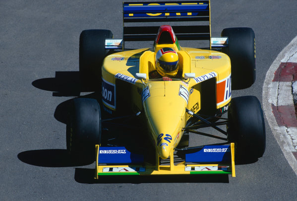 1996 Argentinian Grand Prix.Buenos Aires, Argentina. 5-7 April 1996.Luca Badoer (Forti FG01-95B Ford).Ref-96 ARG 25.World Copyright - LAT Photographic